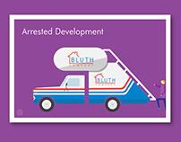 Minimal Fan Art, Series 003: Arrested Development