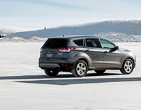 Ford Kuga/Escape at White Sands USA