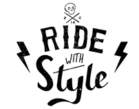 Ride with Style - Lettering