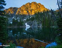 Seven Devils Lake (Idaho side of Hell's Canyon)