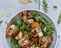 Lemon & Coriander Skewers