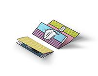 Andy Warhol Brochure Mockup