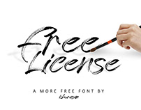 Free License Fancy Font