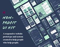 Non-profit UI Kit