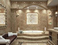 Private Residence Bathroom -2015 Doha, Qatar