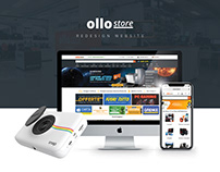 Ollo Store - Ecommerce WebSite, UX Design