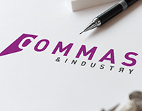 Commas & Industry Logo