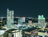 Austin Cityscape at Night.