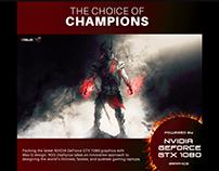 ASUS Prebook ROG Campaign Web Page