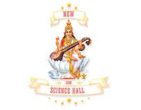 New Science Hall Logo