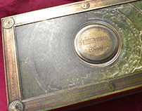 Presentation Spell Book Box