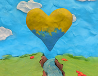 Ukraine heart
