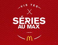 Vis tes séries au Max