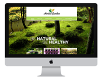 Herbal Garden- Responsive web layout