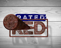 Rated Red Logo Animation