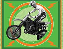 Potomac Vintage Riders Swap Meet Poster