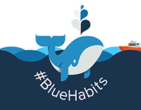 Blue Habits – Animation and website