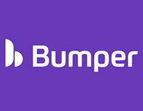 Bumper (Car Repair & Service App) Landing Page Design