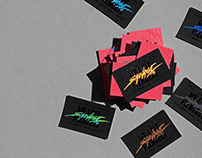 Sauvage.tv business cards