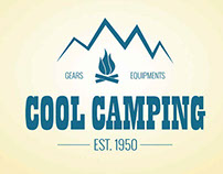 Camping and Outdoor Vector Logo