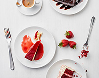 California Pizza Kitchen Food Styling and Photography