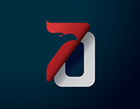 70th Indonesia Independence Day Logo