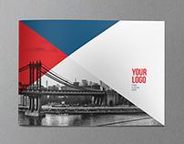 Modern American Brochure