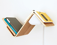 LiliLite bookshelf lamp