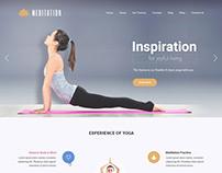 Yoga studio WordPress theme