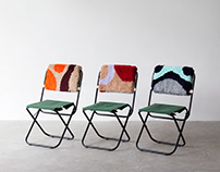 ACAMPA - T44 + Luiza Caldari / tufting furniture