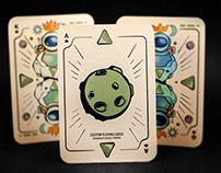Sci-Fi Custom Playing Cards