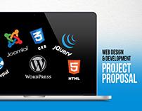 Web Design & Development Project Proposal PowerPoint
