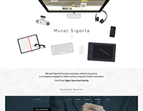 Murat Sigorta - Web Interface Design