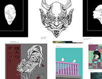 LKDWN D32 // ART PRINTS