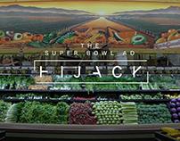 Super Bowl Ad Hijack