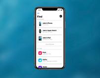 Find App & Apple Tag