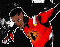 E se você criasse o uniforme do Homem-Aranha?
