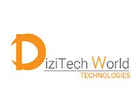 DiziTech World Technologies Company logo design