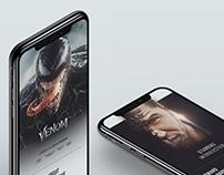 Venom 2018 - offical website reDesign Concept