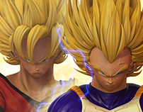 Goku / Vegeta. Team-Up