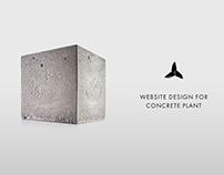 Website for concrete plant
