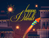 Design for Happy Diwali