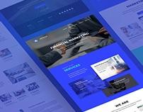 Дизайн сайта Worldwide Financial