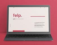 felp. portfolio design