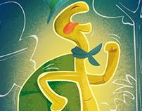 Illustration jeu de société : les fables de La Fontaine