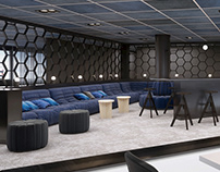 Lounge and Lobby Area Visualizations