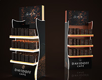 Illumiated POS for Davidoff Cafe