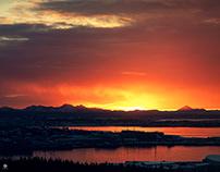 Winter Solstice - Reykjavik, Iceland 2019