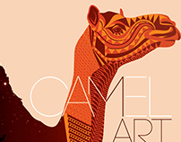 Camel & Sparrow art