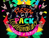 difusión fiesta EL PACK LATINOAMERICANO